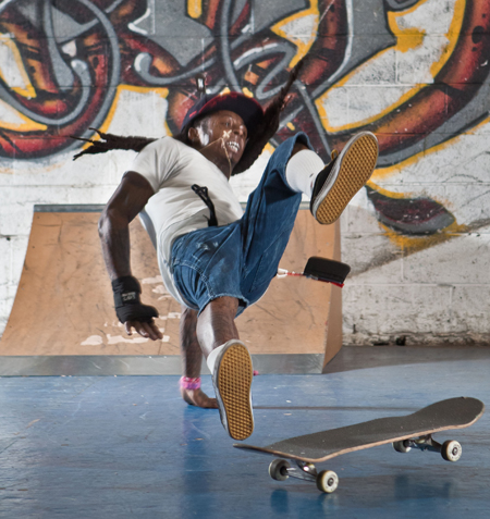 Exclusive - Lil' Wayne Skateboarding The Morning Of Accident