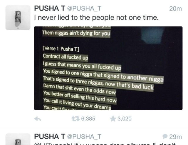 PUSHA T HARD
