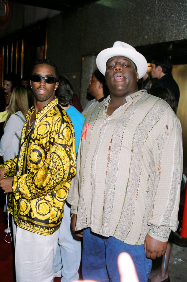 "Sean ""P. Diddy"" Combs & Notorius B.I.G. aka Christopher Wallace (Photo by Jeff Kravitz/FilmMagic)"